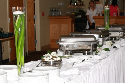 Buffet Table Photo Idea - Idea Gallery - Buffet table decorating idea pictures