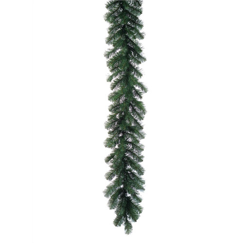 Garland Traditional Christmas 9' - Themed Rentals - Commercial Christmas Garland green