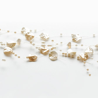 IVORY PEARL Beaded Bangle Garland - Events & Themes - Hanging Pearl Garland for rent